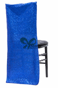New Design Sequin Chiavari Chair Cap \ Chair Jacket Cover For Wedding Decoration