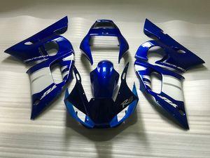 YAMAHA YZFR6 için motosiklet Fairing kiti 1998 2002 YZF R6 YZF600 98 99 00 01 02 ABS Mavi Marangozluk seti + 7 hediyeler YM01