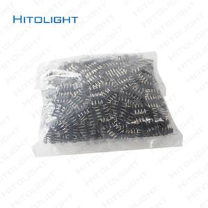 HITOLIGHT 1000 pz LED 4 pin RGB Strip Connector per 5050SMD 3528SMD RGB Strip Connettore Nero 4 pin Facile Installazione Spedizione Gratuita