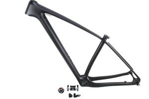 2016 29er dağ bisikleti UD karbon fiber çerçeveleri MTB bisiklet çerçeve ile aks ile 142mm