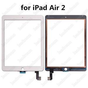 50 pcs original touch screen painel de vidro digitador para ipad air 2 balck e branco livre dhl