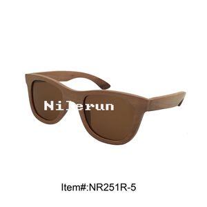 handmade natural solid wood UV proof sunglasses eyewear