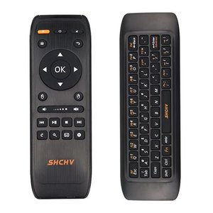 Freeshipping 2.4G Fly Air Mouse Raspberry Pi 3 Wireless Keyboard Remote Control Keyboard for Android Smart TV Box PC Projector