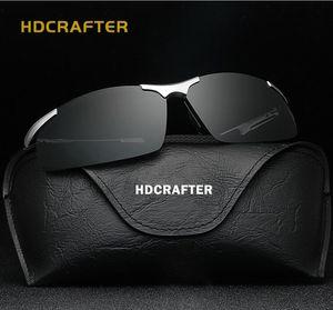 HDCRAFTER 편광 안경 선글라스 운동 안경 알루미늄과 마그네슘 마그네슘 스포츠 안경 미러 E300 안경 상자 포함