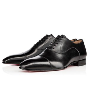 Высокое качество Greggo Flat для вечеричных платьев Bussiness Женщины, Мужчины Мода Красная Нижняя Оксфорды Оксфорды Обувь Повседневная Обувь Обувь 35-47