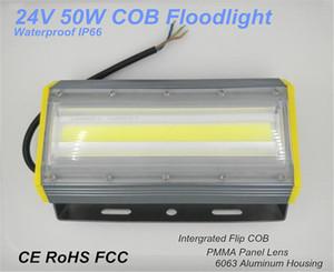 50W 새로운 울트라 슬림 COB 칩 홍수 조명 100lm / w 야외 및 조경 조명에 대 한 높은 밝은 뒤집기 LED 홍수 램프 50W IP67