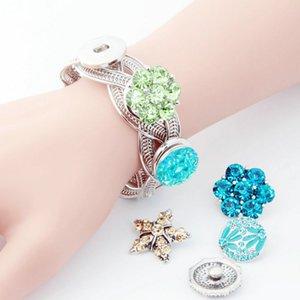 Мода 18 мм кнопка Нуса браслеты ювелирные изделия золото/серебро цвет секс браслет браслеты для DIY Оснастки кнопки