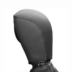 Gear обложки чехол для Subaru XV 2012 ~ 2014 Forester 2013~2016 автоматический сдвиг воротники из натуральной кожи ручной работы DIY стайлинга автомобилей