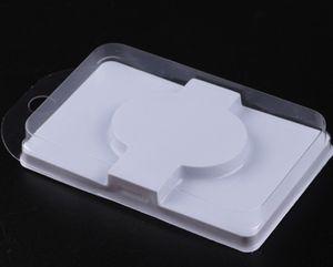 Ресницы лоток ресницы упаковки прозрачной крышки коробки один наборы Beige ресниц упаковка ресницы пакет продает оптом (10шт / много)