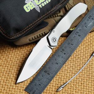 Grüner Dorn Solid Anax MT1500 Lager taktisches Klappmesser S35VN Klinge TC4 Titan Griff Camping Jagd Outdoor Messer Tasche EDC Werkzeuge