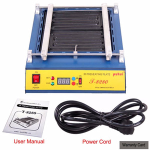 Updated IR Preheating Oven T8280 Rework Preheating Station CE Approved New Pcb Board Infrared Heat BGA SMD