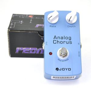 JOYO JF-37 Chorus analógico Pedal de guitarra Efecto True Bypass Blue