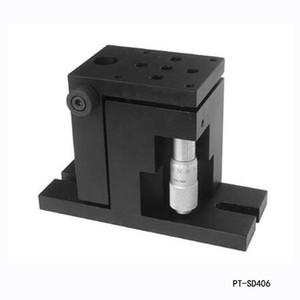 정확한 수동 리프트 Z는 축 높은 2020 수동 연구소 잭 엘리베이터 광학 슬라이딩 리프트 13mm 여행 PT-SD406 제품을 칭찬