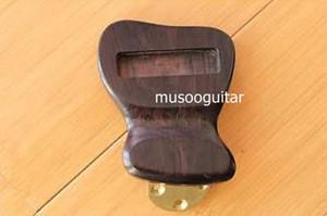 Cola de ébano corta y sólida para guitarra Jazz archtop