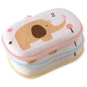 Atacado-escova de banho do bebê chuveiro esponja de algodão esfregando corpo escovas de banho esponjas esfregar acessórios toalha de lavagem