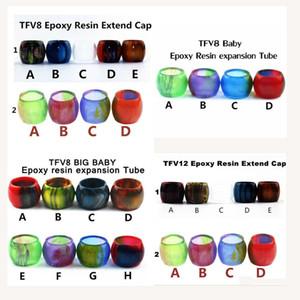 Capsules de tube de résine d'expansion de résine d'expansion de résine d'époxy de qualité pour SMOK TFV12 TFV8 bébé Grand bébé réservoir atomiseur Vape