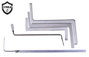 Vente chaude 5 pièces Outils Serrurier Fonction multi tension métallique Rod / Puch Rod Tubestension Clé de verrouillage Pick-Serrurier Supply