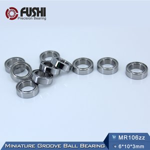 MR106ZZ Lager ABEC-5 (10ST) 6 * 10 * 3 mm Miniatur MR106Z Kugellager MR106 ZZ L1060 ZZ 6x10x3 MM
