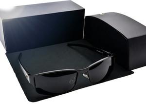 Top Quality MB610 Designer de marca polarizado óculos de sol homens Mulheres Polit Sun Óculos Metal Framen Sport Driving Óculos com casos de varejo