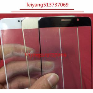 Outer lente di vetro di riparazione del rimontaggio dello schermo per Samsung Galaxy Note IV Nota lente 5 N9200 N920F