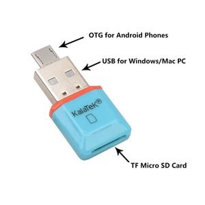 Exteral USB SD Card Reader Real Дешевые Удивительные MINI 5Gbps Super Speed USB 3.0 OTG + Micro SD / SDXC TF адаптер чтения карт памяти