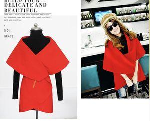 Wholesale-Hot Sale New Arrival Autumn  Casual High Street Korean Style Pleated Women's Fashionable Lapel Dip Hem Orange Coat