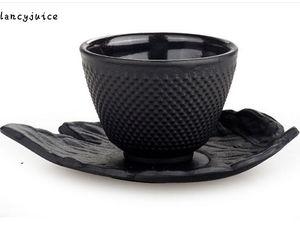 Roheisen-Tee-Becher Drinkware-Werkzeug-Schalen-Set Japanischer Teetasse 70ML chinesischer handgemachter Becher