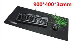 Оптовая торговля-большой размер Razer Goliathus скорость издание игровой коврик для мыши Коврик размер 900 * 400*3 мм
