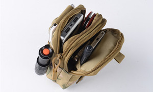 Unisex multifunction camouflage Waist Bag Waistpacks Sports Camping & Hiking Fishing high quingity Outdoor Bags exemption from postage