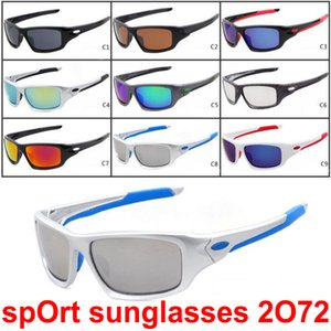 2019 occhiali da sole del progettista di marca per uomini e donne all'aperto grande cornice occhiali da sole di Sport Ciclismo Occhiali da sole 9colors
