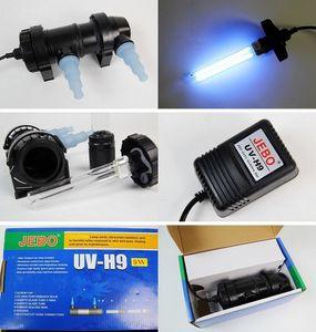 All'ingrosso-JEBO 5W ~ 36W Wattaggio UV sterilizzatore lampada luce filtro ultravioletto chiarificatore acqua pulitore per acquario stagno corallo Koi Fish Tank
