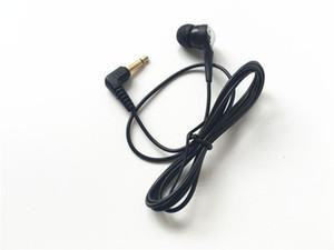 100 حزمة واحدة الجانب سماعة الأسود مونو ياربود سماعات 1-Bud منخفضة التكلفة erbuds سماعة ل mp3 ، mp4 ، psp ، الهواتف الكمبيوتر