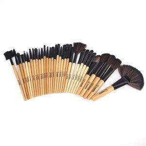 Yumuşak 32 Adet Profesyonel Fırça Seti Vander Yaşam Makyaj Fırçalar Vakfı Göz Yüz Kozmetik Makyaj Fırça Aracı Kiti ile Çanta