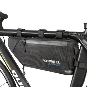 4L водонепроницаемый нейлоновый двойной слой MTB Mountain Road Bike Bag Triangle передняя рама трубка сумка велосипед велосипедных велосипедов