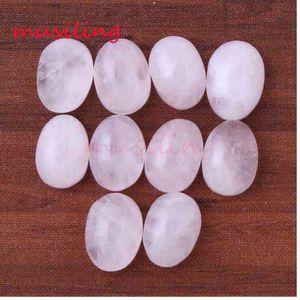 Perle piatte 6x8mm Natural Gem Stone Beads DIY Per Monili Che Fanno Quarzo Rosa Ametista ecc Branelli Allentati Charms Accessori gioielli