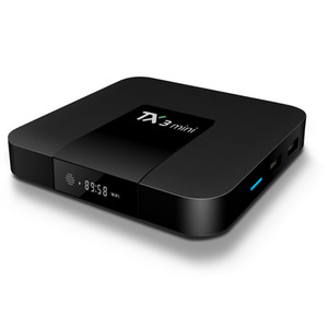 Android TV Box TX3 Mini Amlogic S905W com Wifi 2.4G Android 7.1 TV Box 1G / 8G 2G / 16G Media Player