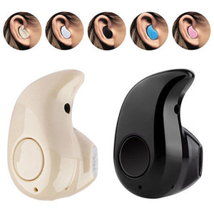 Mini Wireless Bluetooth 4.0 Stereo In-Ear Headset Kopfhörer Ohrhörer Beige