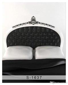 5x7ft vinilo blanco negro cabecero dormitorio fotografía estudio telón de fondo