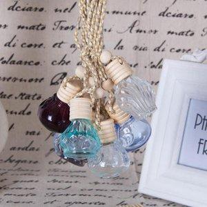 Автомобиль флакон духов творческий интерьер автомобиля зеркало заднего вида леди ароматерапия бутылка масла бутылки духи кулон F20171232