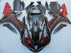 Kit carena in plastica ABS per Yamaha YZF R1 02 03 carene rosse set carenature carrozzeria YZF R1 2002 2003 OI29