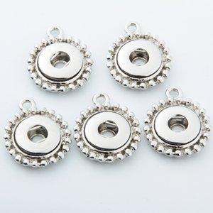 Haute Quanlity 12mm Noosa Style en acier inoxydable conception simple boutons-pression base accessoires interchangeables pour NOOSA bijoux