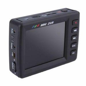 2,7-дюймовый портативный видеорегистратор, обнаружение движения Pocket DVR, запись аудио-видео, носимые на теле камеры пульт дистанционного управления