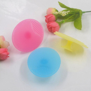 New Soft brush Facial Exfoliating Brush Infant Baby Soft Silicone Wash Face Cleaning Pad Skin SPA Scrub Cleanser Tool