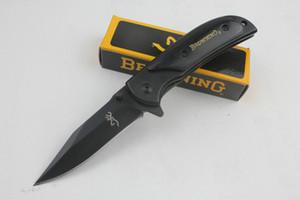 Promosyon Küçük boyutu Browning 338 Survival Cep orijinal kağıt kutusu Siyah ambalaj ile bıçak EDC bıçak bıçak katlanır