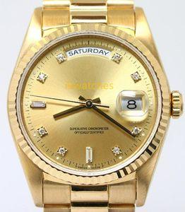 Hot vente montre mécanique Homme montre-bracelet automatique mode montres en or de qualité supérieure STEE montre-bracelet 105