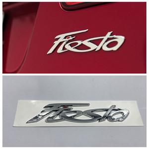 Fiesta ABS Logo Auto Emblem Kofferraumdeckel Aufkleber abzeichen aufkleber Für Ford Fiesta auto zubehör