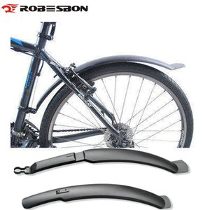 ROBESBON Alas de bicicleta Fender Road Mountain Bike Bicycle Front Guardabarros traseros Fender Set Guardabarros Wings To Bicycle Front / Rear Racks