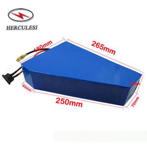 3000W 72V électrique VTT Batterie 20S5P 18650 GA3500 Li Ion 72V 17.5Ah Triangle batterie au lithium avec chargeur et sac