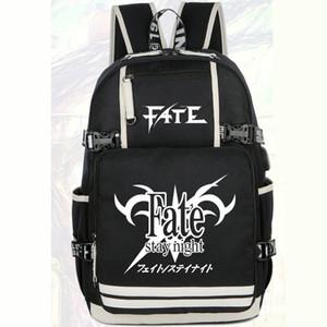 Fate stay night backpack Sabre zero daypack Zaino unisex Cartone animato zaino Borsa da scuola sportiva Outdoor day pack