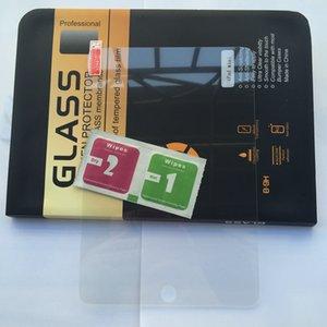 خفف زجاج الشاشة حامي لباد 2 3 4 5 6 الهواء AIR2، ميني 1 2 3، Mini4 اللوحي 0.3MM 2.5D قسط واضح واقية من الانفجار صندوق السينمائي